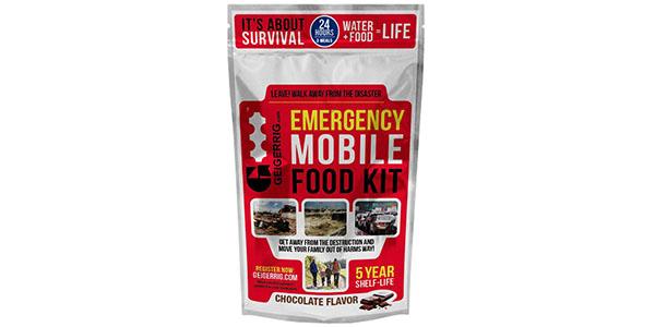 Geigerrig Emergency Food Kit