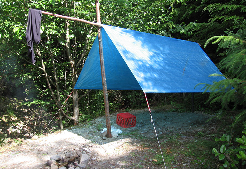 Tarp And Cordage Tent