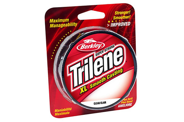 Berkley Trilene is a popular example of monofilament line.