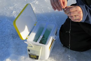 Convenience Makes a Day of Ice Fishing More Enjoyable