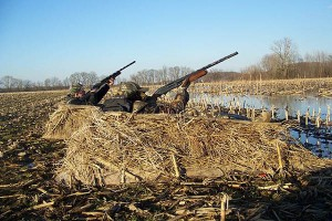 Building Basic Duck Blinds