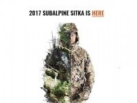 New Sitka Gear Products 2017 – Subalpine