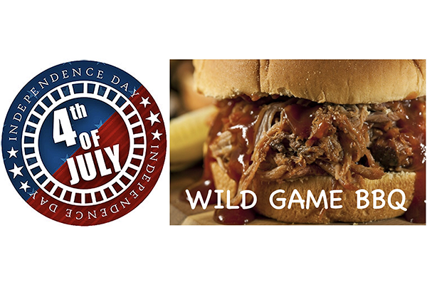 A Fourth of July Wild Game Barbecue