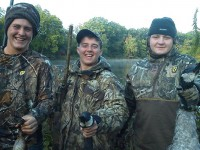 Getting the Kids Ready for Waterfowl Season