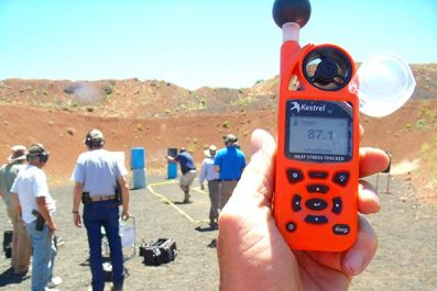 Kestrel 5400 Heat Stress Meter Review