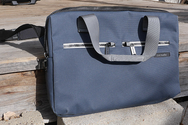 Pacsafe Instasafe Brief Laptop Bag Review