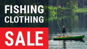 fishing clothing sale