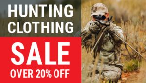 hunting clothing sale