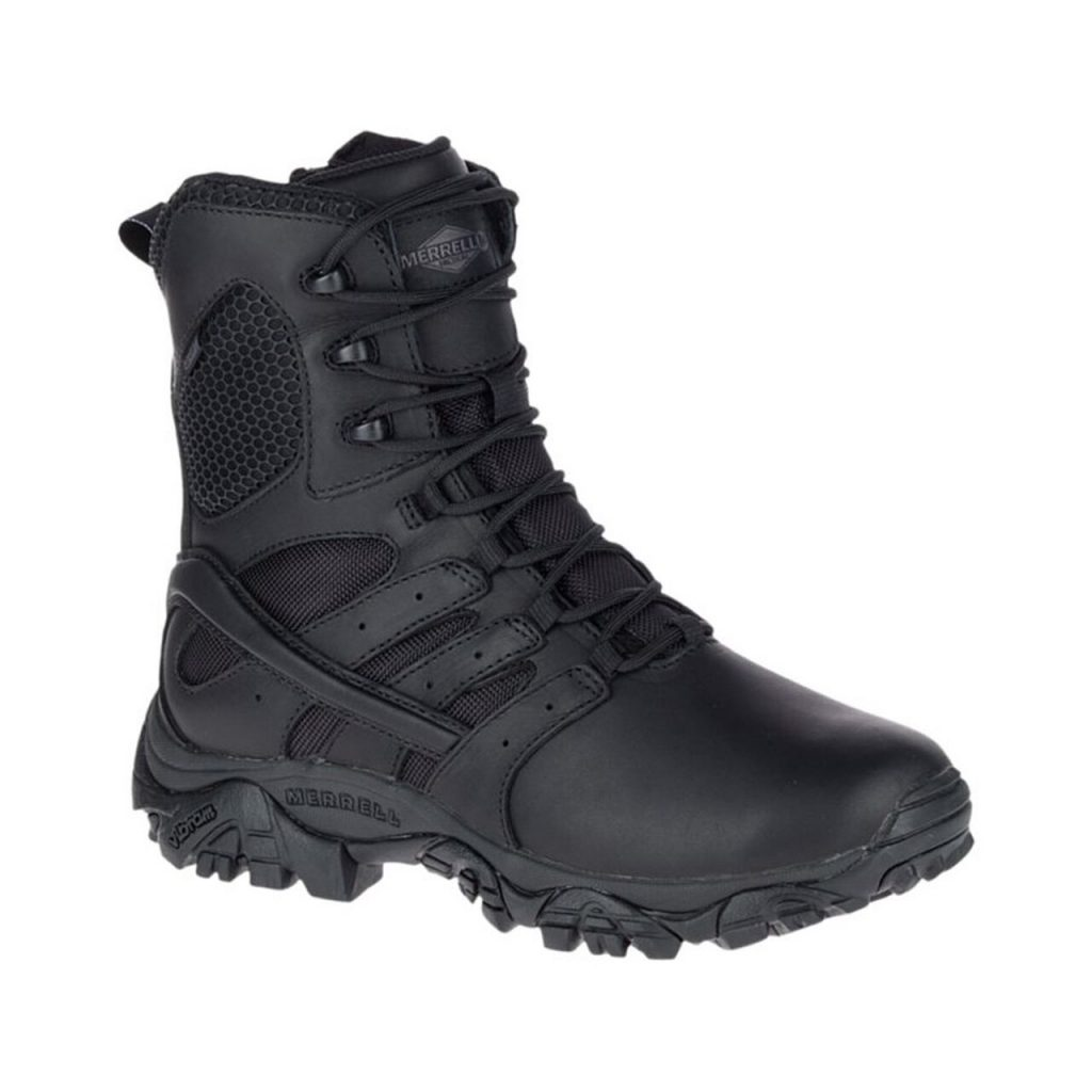 Womens Moab 2 8in Response Waterproof Black Boot