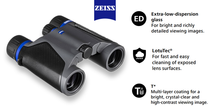 Zeiss Terra ED pocket binocular features