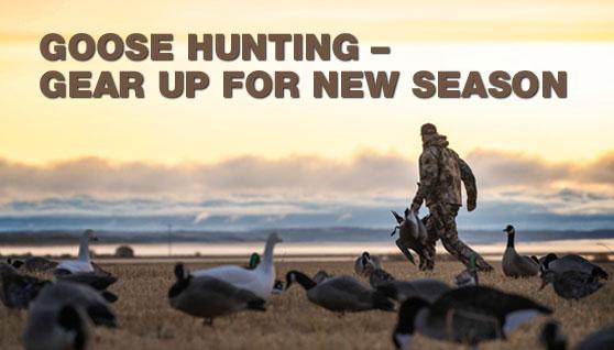 goose hunting season